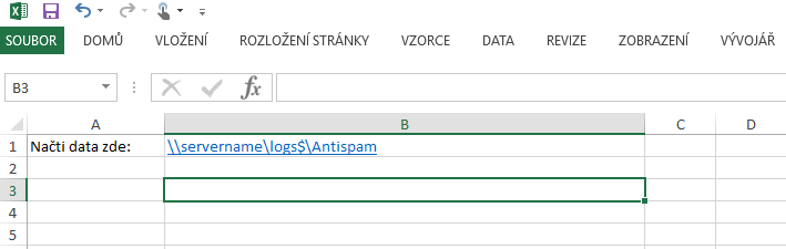 Exchange_antispam_report_excel_list